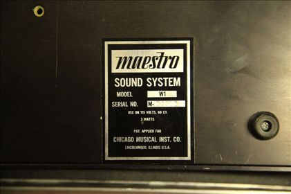 Maestro-Woodwind Sound System W1
