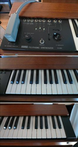 Korg-PS-3300 with keyboard & MIDI n/p
