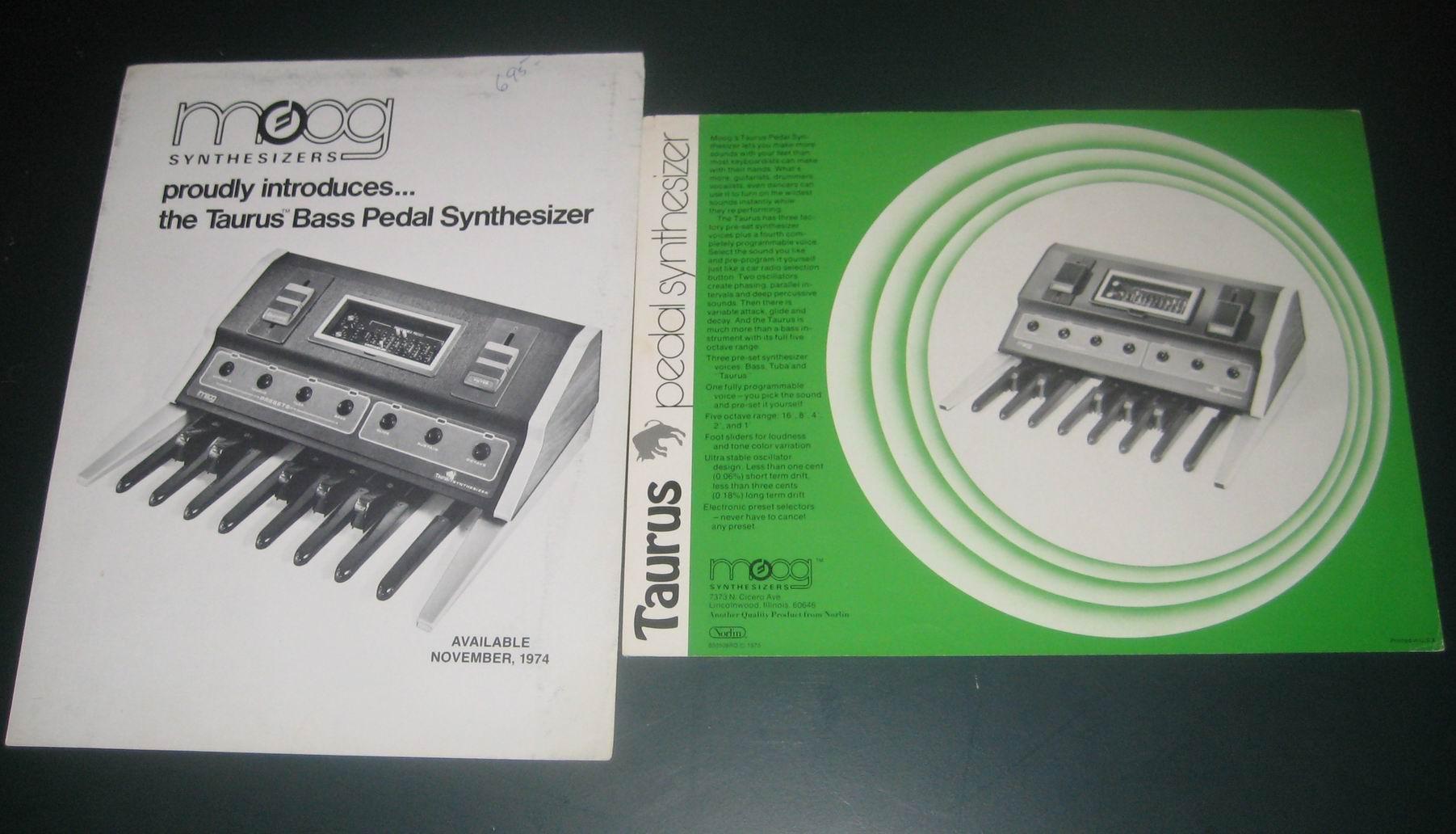 Spheremusic Bargain Or Auction Detail Moog Taurus Schematics 2