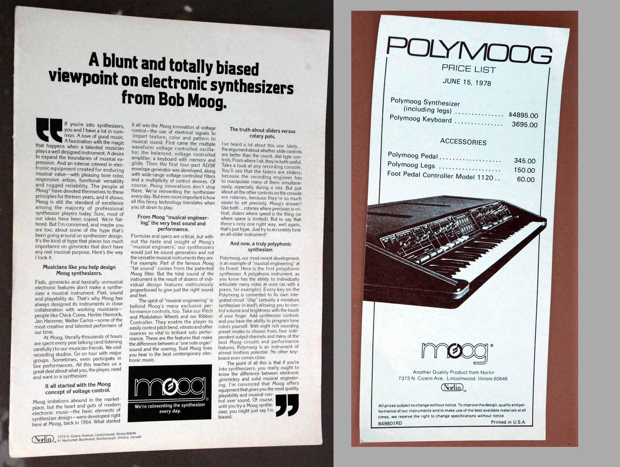 spheremusic bargain or auction detail Moog Source Moog Synth