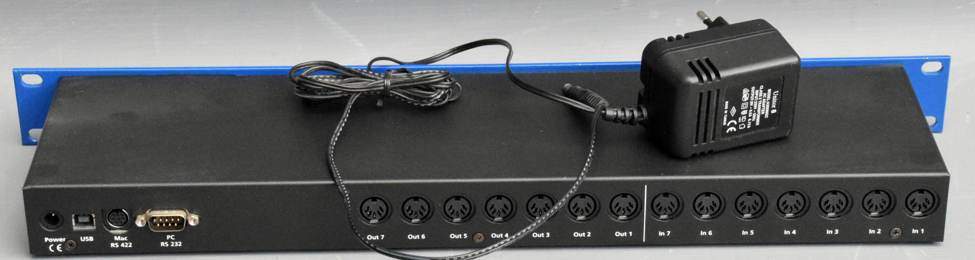 Emagic Amt8 Midi Interface W/ Power Supply Pro Audio Equipment
