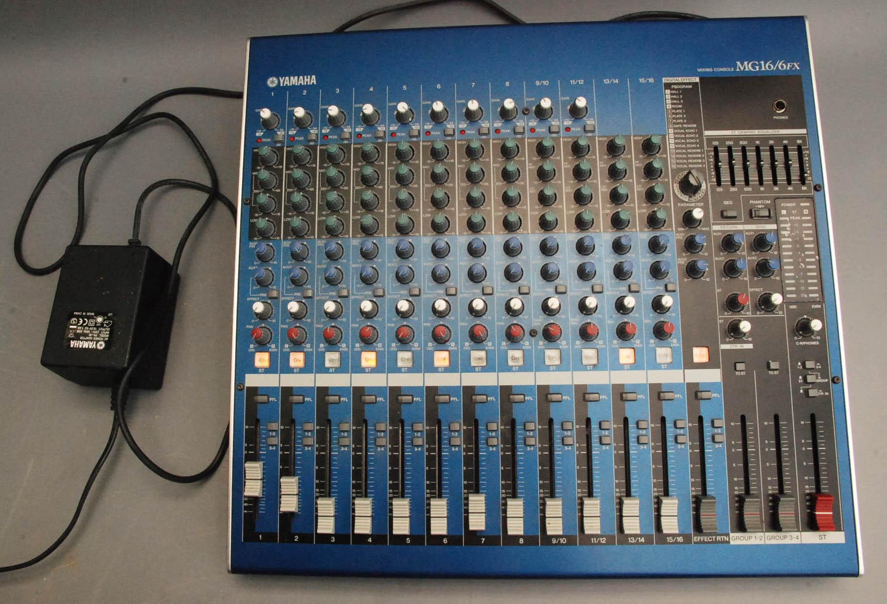 Yamaha mg16 6fx инструкция скачать