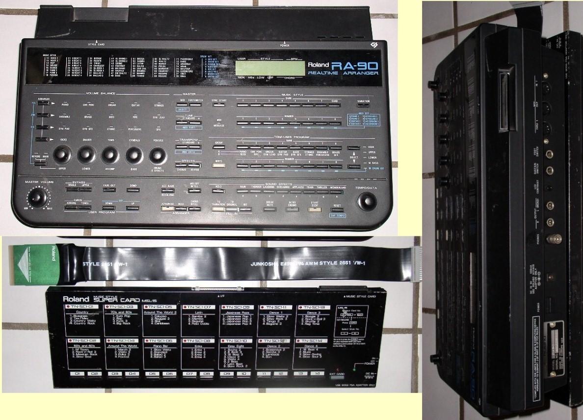 spheremusic bargain or auction detail rh spheremusic com Rogue RA -090 Review Roland Ra 90 Demo